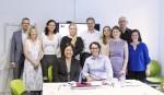 ERA CRN workshop participants (From left: Hannes Hansen-Magnusson, Julie Smith, Inga Ulnicane, Mari Elken, Luis Sanz-Menendez, Laura Cruz-Castro, Pauline Ravinet, Peter Erdelyi, Hannah Moscovitz; Seated: Meng-Hsuan Chou and Mitchell Young) (Photo credit: Mari Elken)