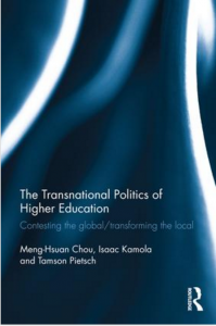 Routledge Transnational Politics of HE