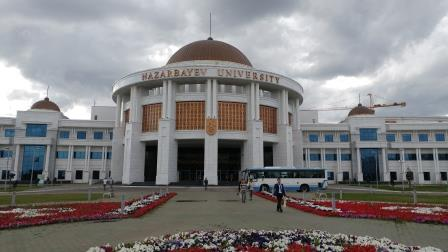 Nazarbayev University in Astana, Kazakhstan. Image source: Author